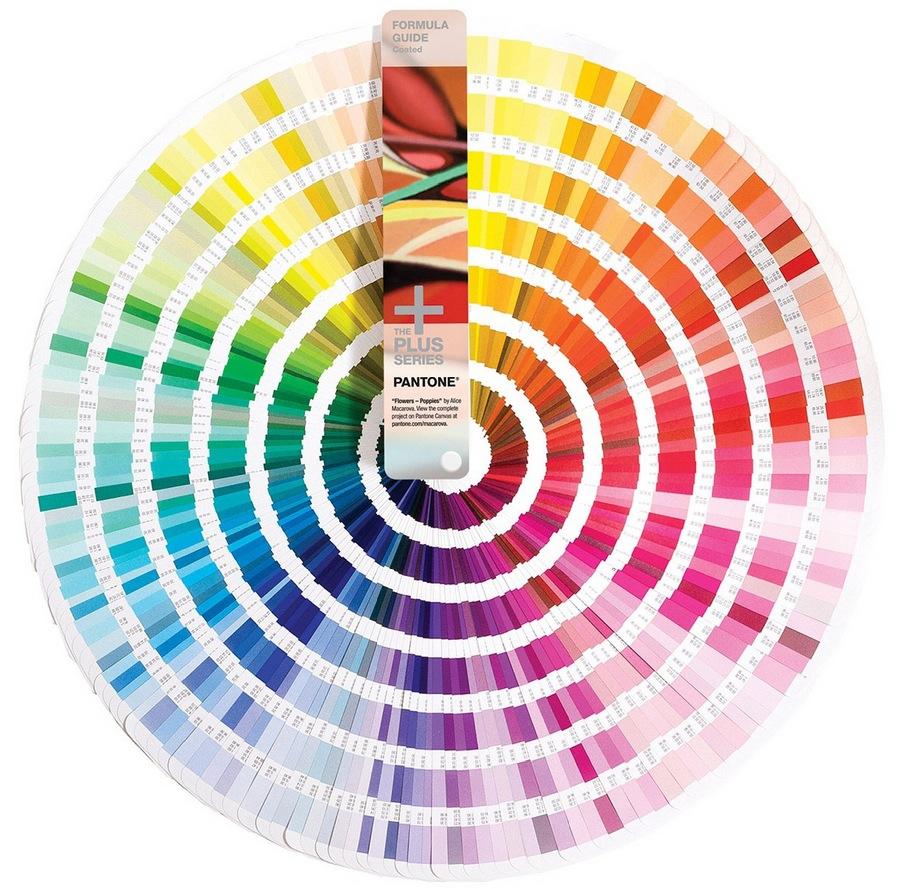 Цветовая палитра колеров